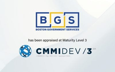 Boston Government Services, LLC Appraised at CMMI Maturity Level 3