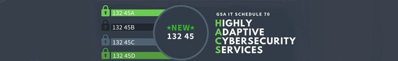 BGS awarded the Highly Adaptive Cybersecurity Services (HACS) Special Item Number (SIN) under GSA Schedule 70 (IT) Contract
