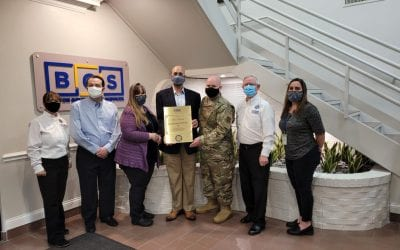 BGS Awarded the Employer Support of the Guard and Reserve Tennessee Pro Patria Award